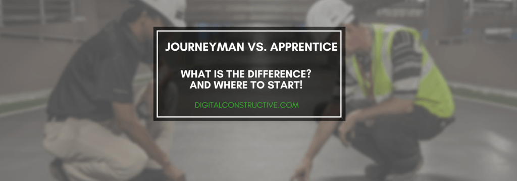 featured image for a blog post about the difference between a journeyman and apprentice