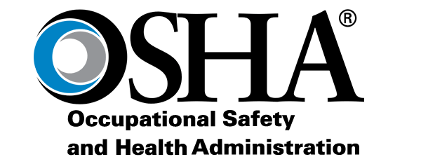 Logo of the OSHA: Occupational safety and health administration