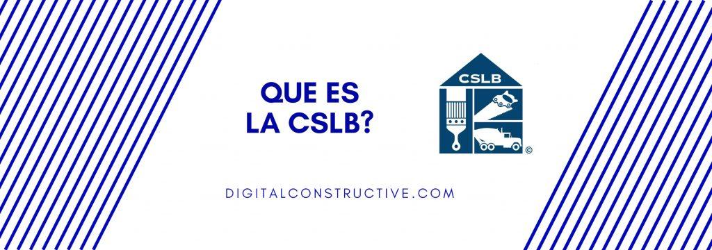 foto principal para un blog post sobre de como sacar la licencia de contratista y tambien explicando la CSLB