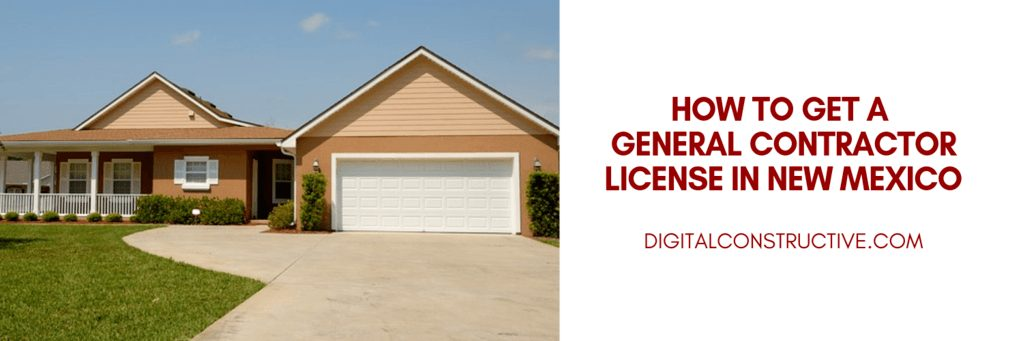 the complete guide to get the GB-9 general building license in new mexico